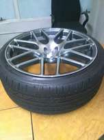 19'' A line racer 5/112 mags and new wheels for sale