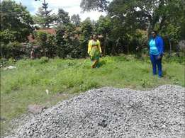 KAHAWA SUKARI 100 *100 plot for sale off marsabit rd 2nd row