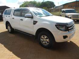2013 Ford Ranger 2.2TDCi XLS 4x4 Doublecab with Canopy