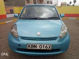 Selling a Toyota Passo Auto in very good condition