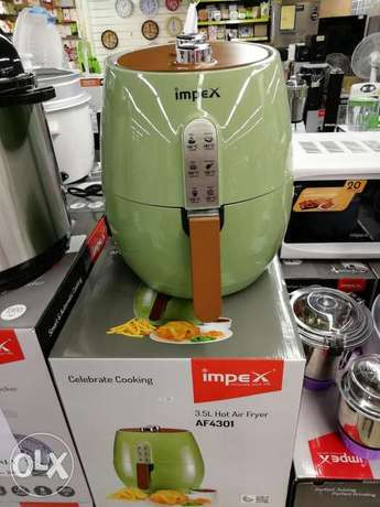 Impex 3.5 Litter Hot Air Fryer Warrenty 2 Years New All Now Big Offer