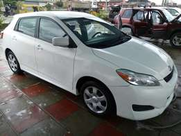 Foreign Used 2010 Toyota Matrix For #3.5M