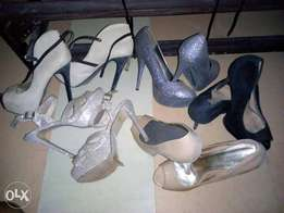Neatly used shoes