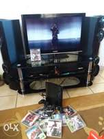 PS3 500GB with 2 joysticks and 10 games
