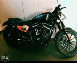 New Harley Davidson 883 Special Edition