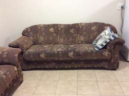 6 seat Couch for urgent sale ( 3 seater, 2 seater and 1 seater)
