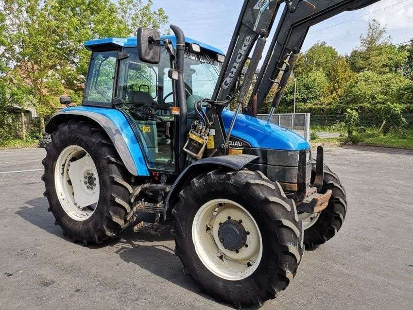 New Holland ts100 - 2001 for sale - Specifications | Tradus
