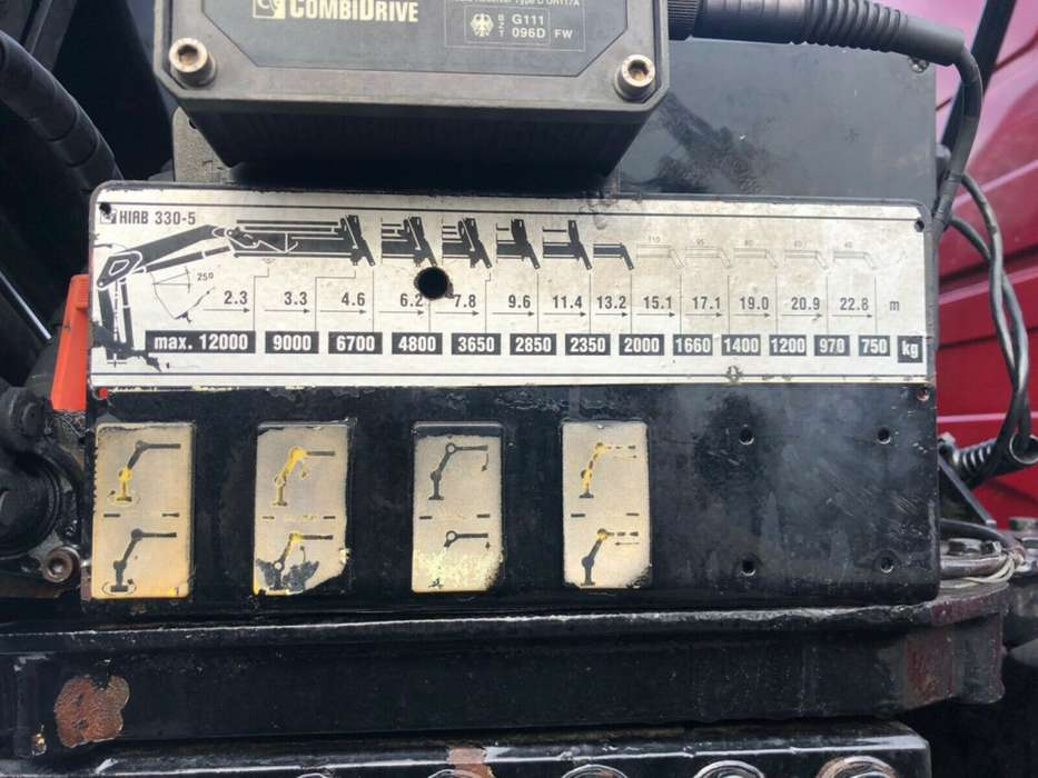 Scania 530 6x4 - Hiab 330-5 - 1999 - image 14