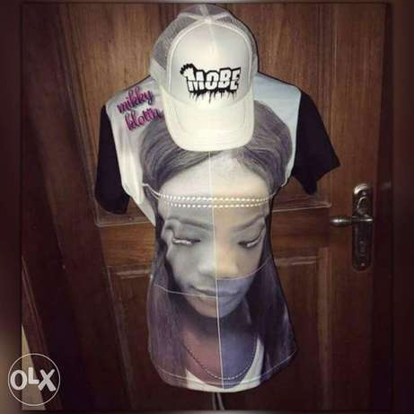 3D sublimation (your picture Direct on your shirt) Akure - image 1