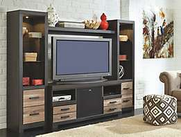 Elegant furniture of sideboard with TV stand