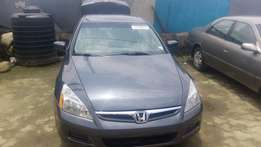 Honda accord 2007 model tokunbo for fast sell 4plug