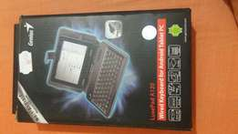 7inch cover with key board