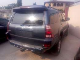 Very clean tokunbo Toyota 4Runner limited