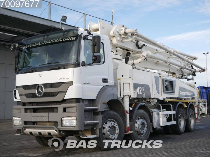 Mercedes-Benz Axor 4140 B 8X4 Putzmeister M 42-5 Euro 5 Manual Big-Axle... - 2016