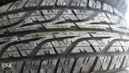 265/65R17 brand new Dunlop tyres AT3, very strong tyre.