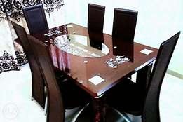 High quality glass dinning table