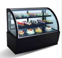 refrigerated chiller display for meat, pastries, cake