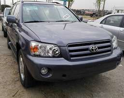 Full Options Toyota Highlander (2006)