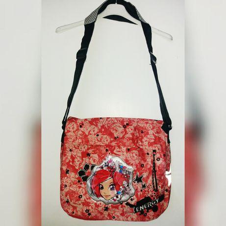 35722a0db57e0 Nowa duża torba szkolna na ramię.Oryginalna Disney witch czarodziejki  Zamość - image 1