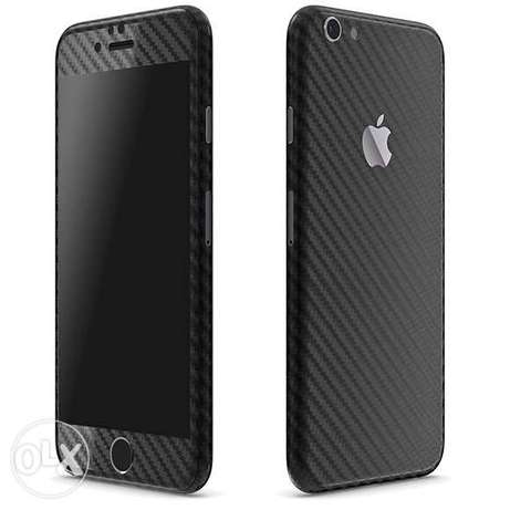 Carbon Fiber iPhone Wrap Case