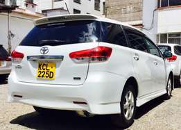 toyota wish just arrived 2010 model KCL on grand sale 1,375,000/= Ono