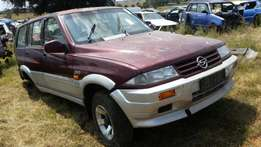 Ssang young 1996 manual complete needs fixing R12500