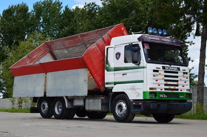 Scania 143H 450 6x2 1996 - BIG BODY TIPPER
