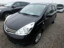 Nissan Note 2009 Model Automatic 2WD Black Color