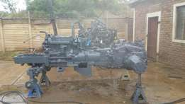 New Holland 5640 2wd, being rebuilt. With logbook
