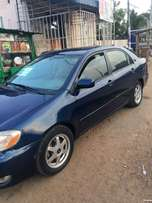Toyota corolla Le in a very good condition for sale