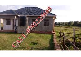 Refurbished 3 bedroom house for sale in Gayaza at 100m