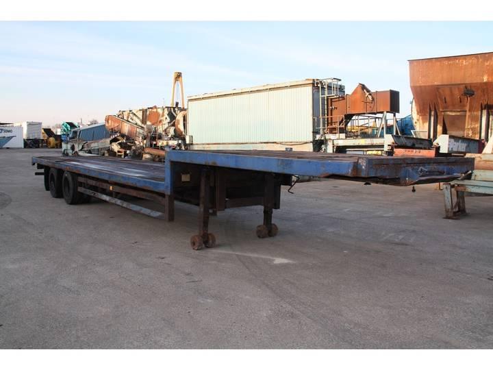Crane Fruehauf  semi stepframe trailer - 1984