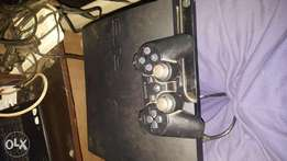 PS3 slim 160gb hacked with 7 games installed