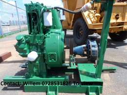 Water Pump with 1 Cylinder Lister engine Bargain of the week R12000