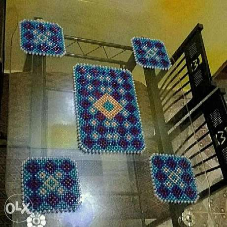 5-Piece Set Table Mats Kasarani - image 1