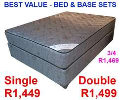 Bed & Base Sets - Best Value - From R1,449