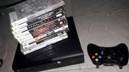 Xbox 360 for sale with 10 games