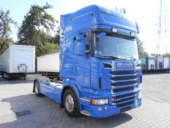 Scania R500 V8, EEV, Topline, Full Luft, hinten 4xluft - 2013