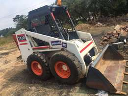 bobcat 743B in good condition