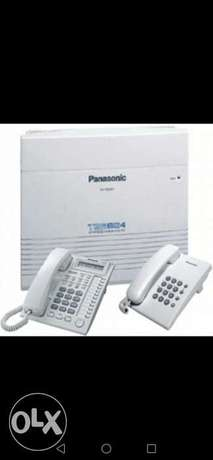 Panasonic analogue PBX installation for internal extensions