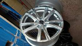 Size 16 pcd 5×114.3 now available At Lwan autos.