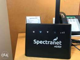 Spectranet Modem with Power Bank and Unlimited Gold data plan