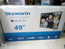 Skyworth 49 inch 4k UHD smart tv