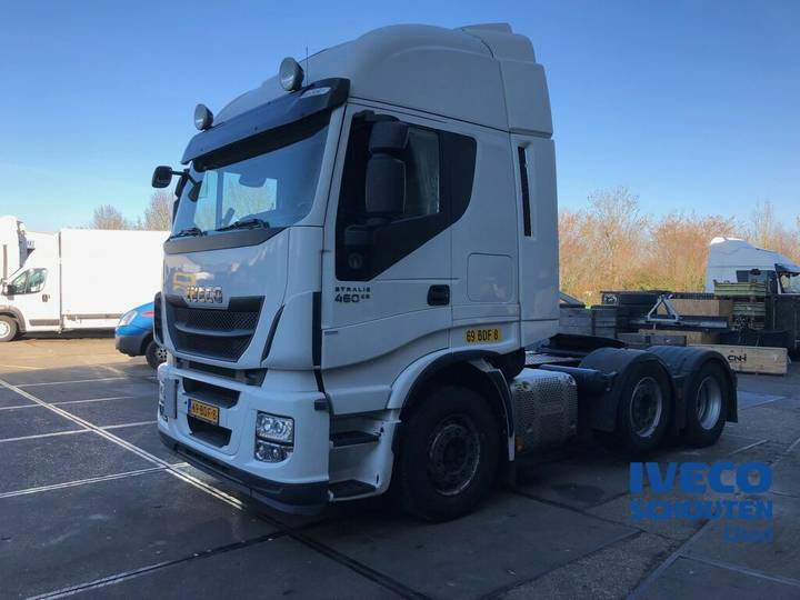 Iveco AS440S46TX/P 6X2 EURO VI 2013 manual 502.762 km - 2013