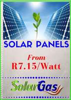Solar panels ffrom only R 7.15 per watt!!!