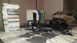 Xbox 360 kinetic with 26 games