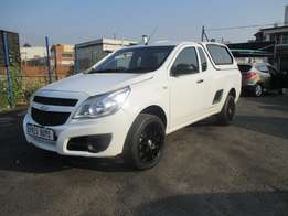 Chevrolet utility 1.4 with canopy, 2-doors, Factory A/c, C/d Player