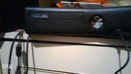 Xbox 360 + remote + hard drive + games etc. great condition