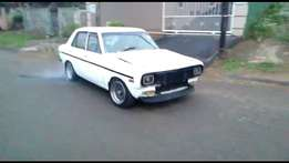 Datsun Turbocharged with management & many extra's sale or swop/swap