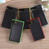 12000mAh Portable Waterproof Solar Charger Power Bank With Super Led